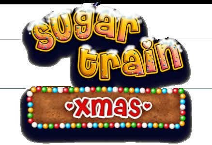 Sugar Train Xmas Slot Logo Slots Racer