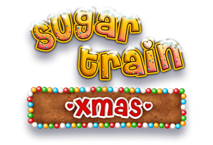 Sugar Train Xmas Jackpot Slot Logo Slots Racer
