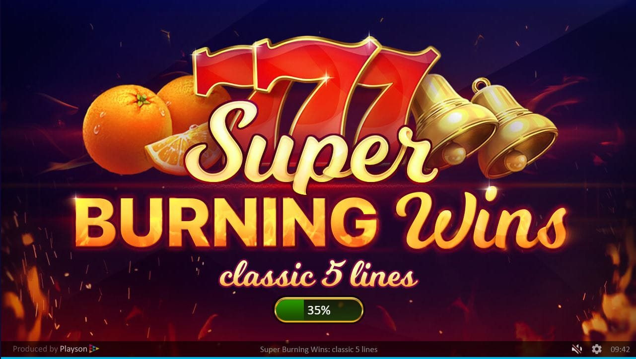 super burning wins slots racer