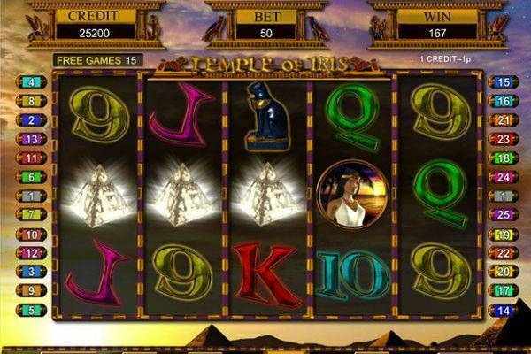 Temple of Iris Slots UK