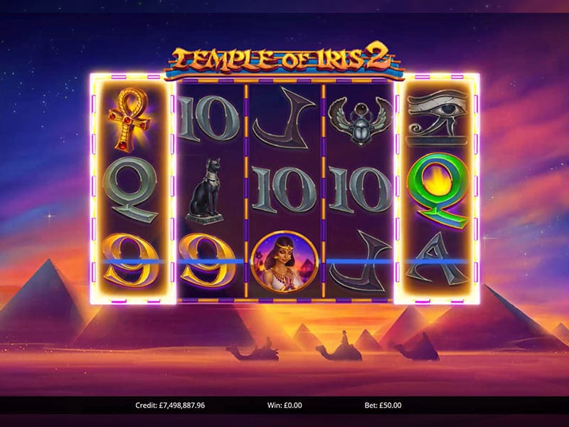 Temple of Iris 2 Slots Game