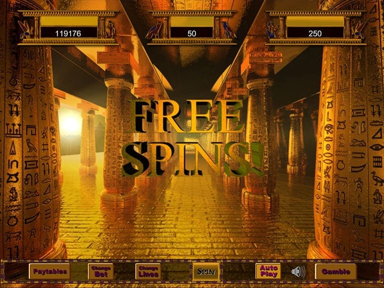 Temple of Iris Jackpot Free Spins Slots