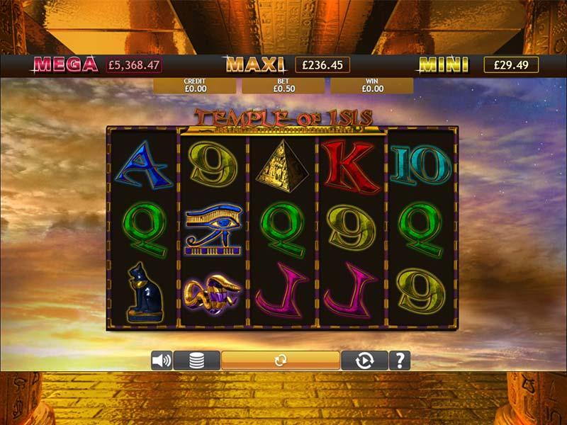 Temple of Iris Jackpot Slots Game