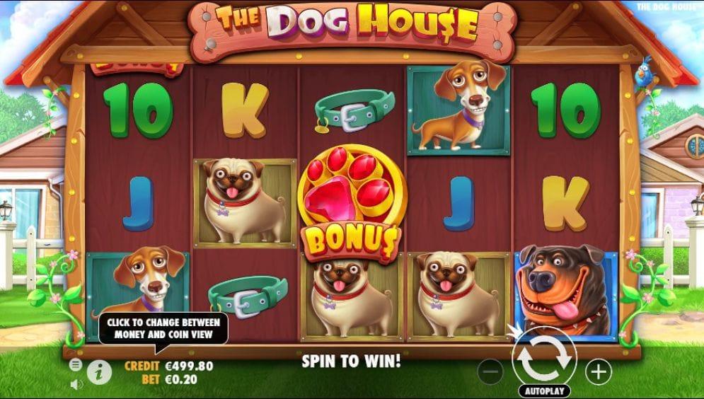 The Dog House Slot Gameplay