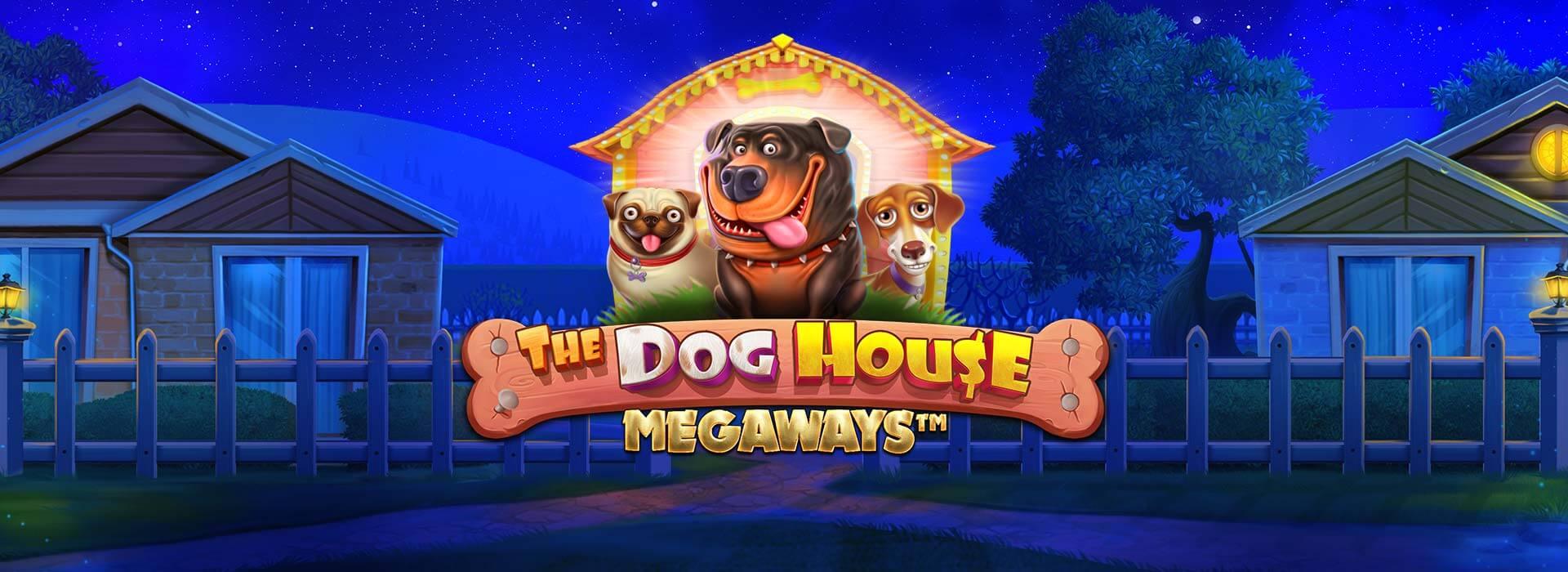 Dog House Megaways Slot Logo Slots Racer