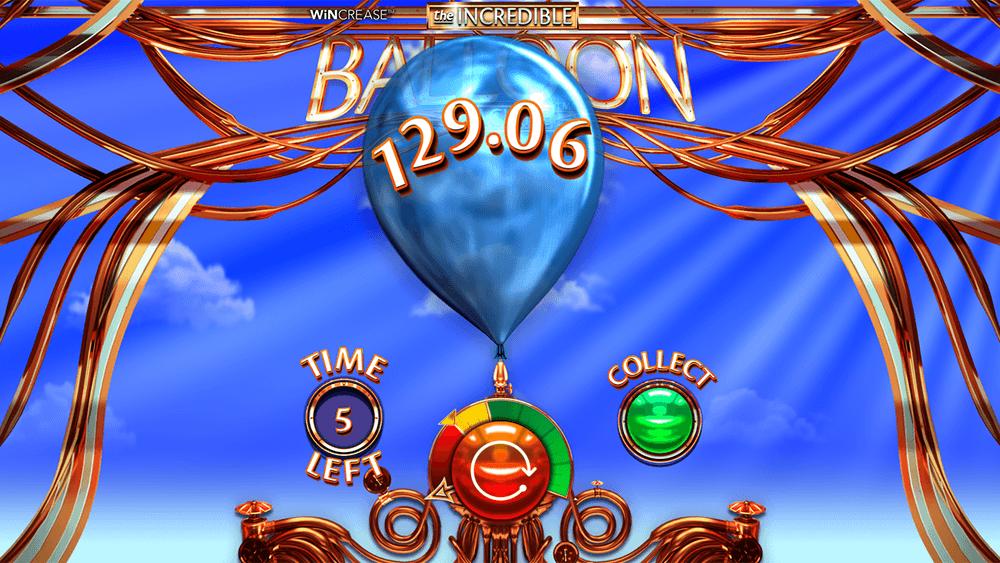 The Incredible Balloon Machine Slots Gameplay