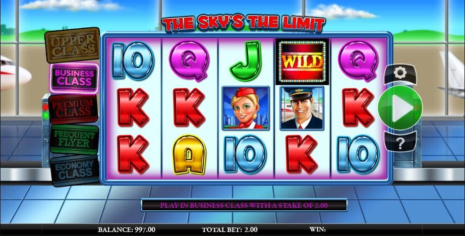 The Sky's The Limit Slot