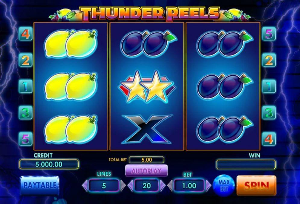 Thunder Reels Slot Online