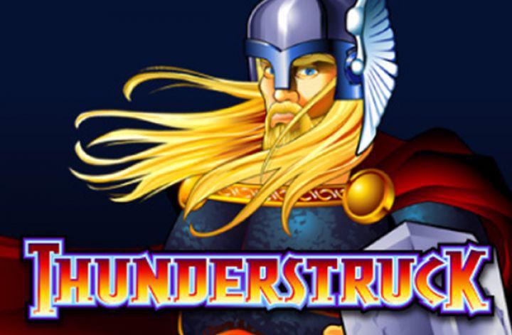Thunderstruck Slot Logo