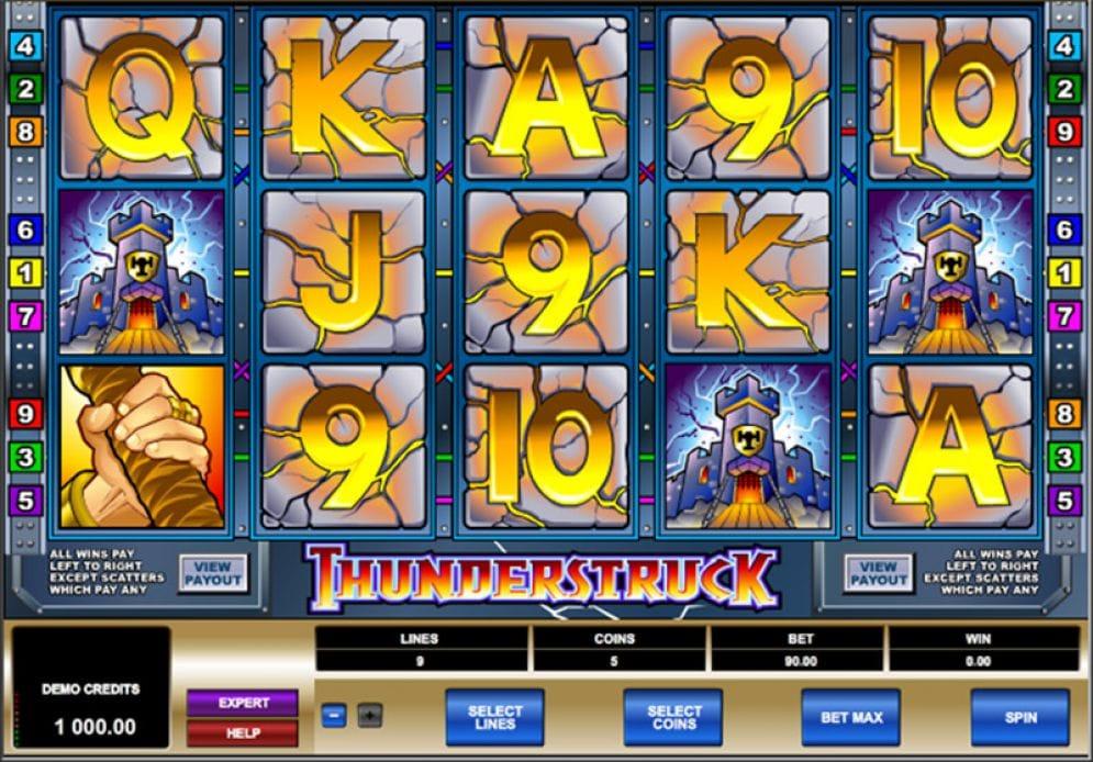 online casino slot gameplay