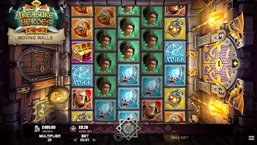 Treasure Heroes Slot Game
