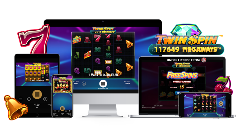 Twin Spin Megaways Mobile Slots