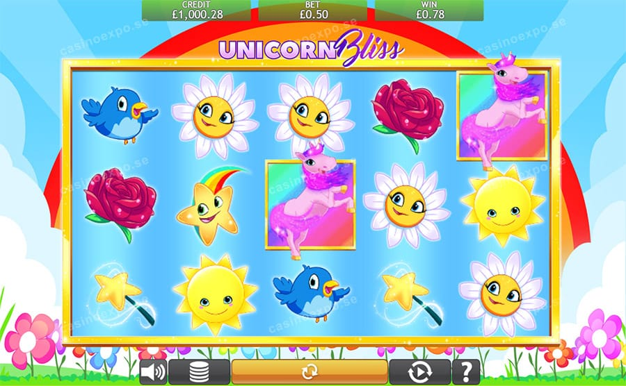 Unicorn Bliss Slots Game