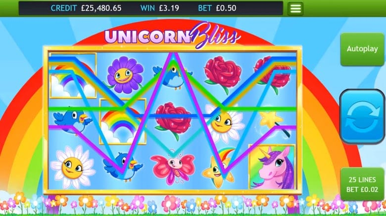 Unicorn Bliss Jackpot Slot Game
