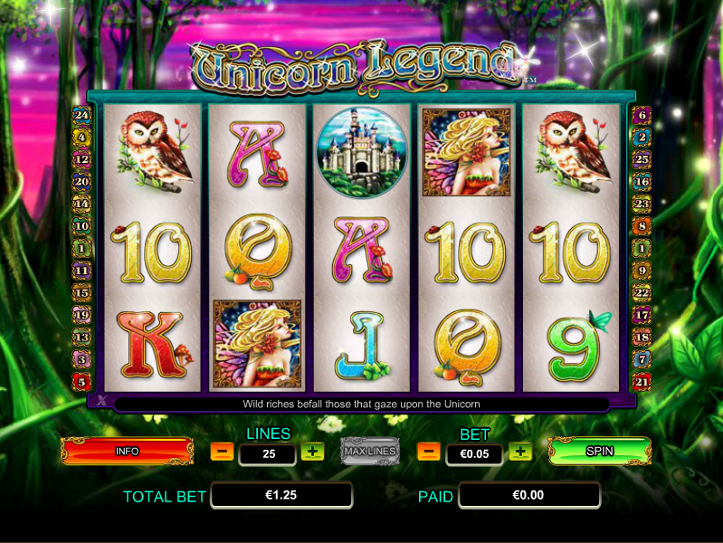 Unicorn Legend Slot Online