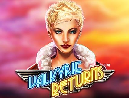 Valkyrie Returns Slot Logo Slots Racer
