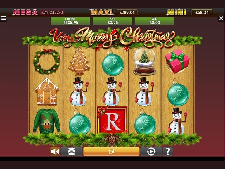 Very Merry Christmas Jackpot Slots Online
