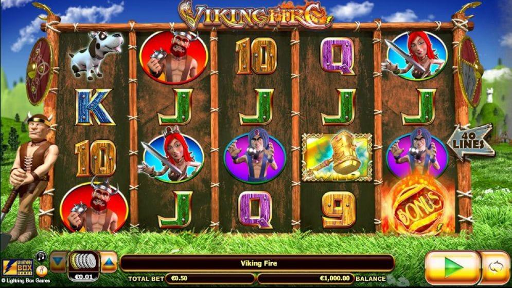 Viking Fire gameplay slot