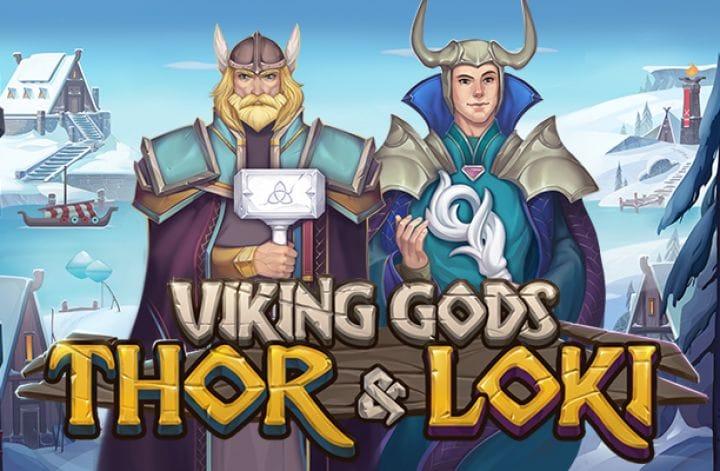 Viking Gods slot logo
