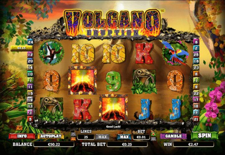 Volcano Eruption Slots Game