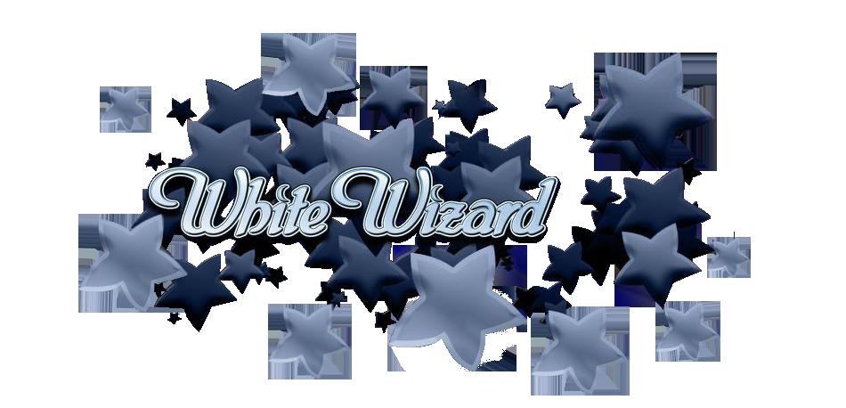 White Wizard Logo Slot