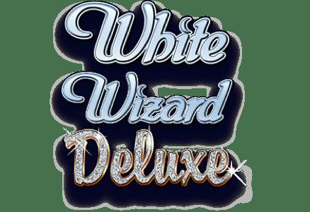 White Wizard Deluxe Slot Logo Slots Racer