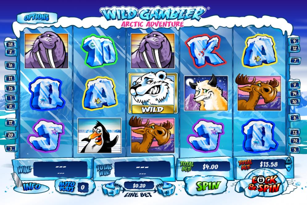 Wild Gambler Arctic Adventure Slots Gameplay