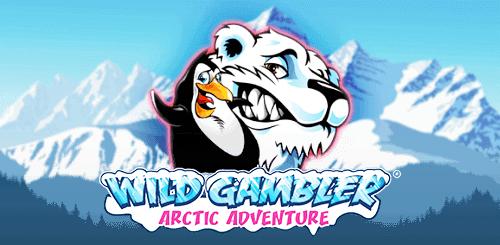 Wild Gambler Arctic Adventure Slot Logo Slots Racer