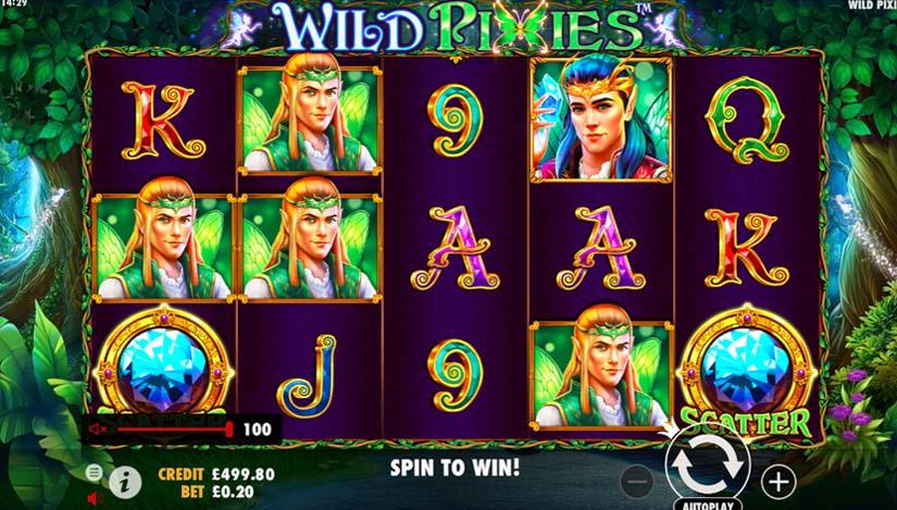 Wild Pixies Slot Gameplay