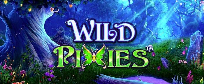 Wild Pixies Slot Logo Slots Racer