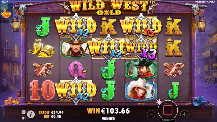 Wild West Gold Slots Wilds