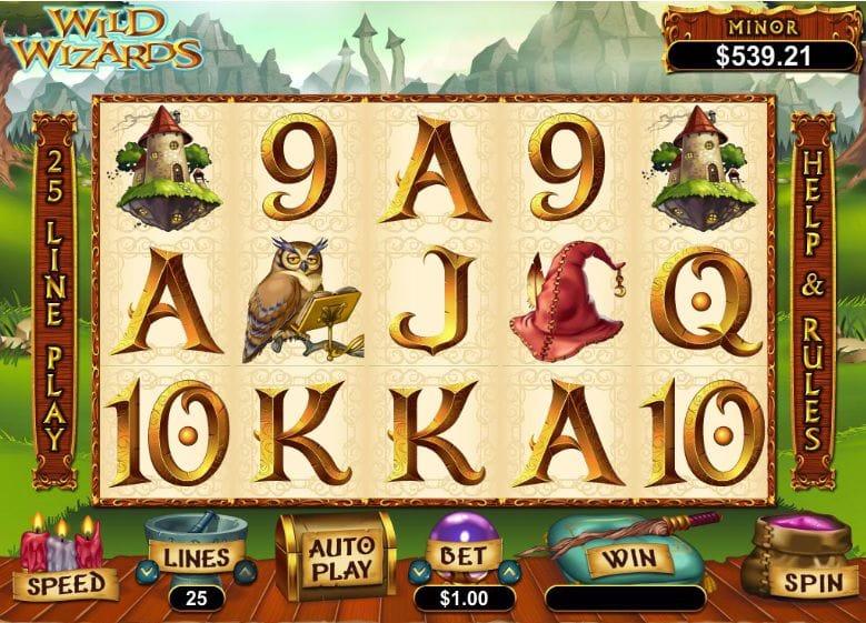 Wild Wizards Slot Gameplay