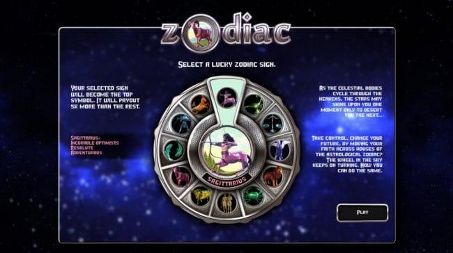 Zodiac Slot Symbols