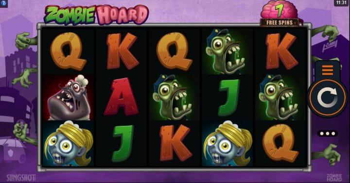 zombie hoard gameplay slot